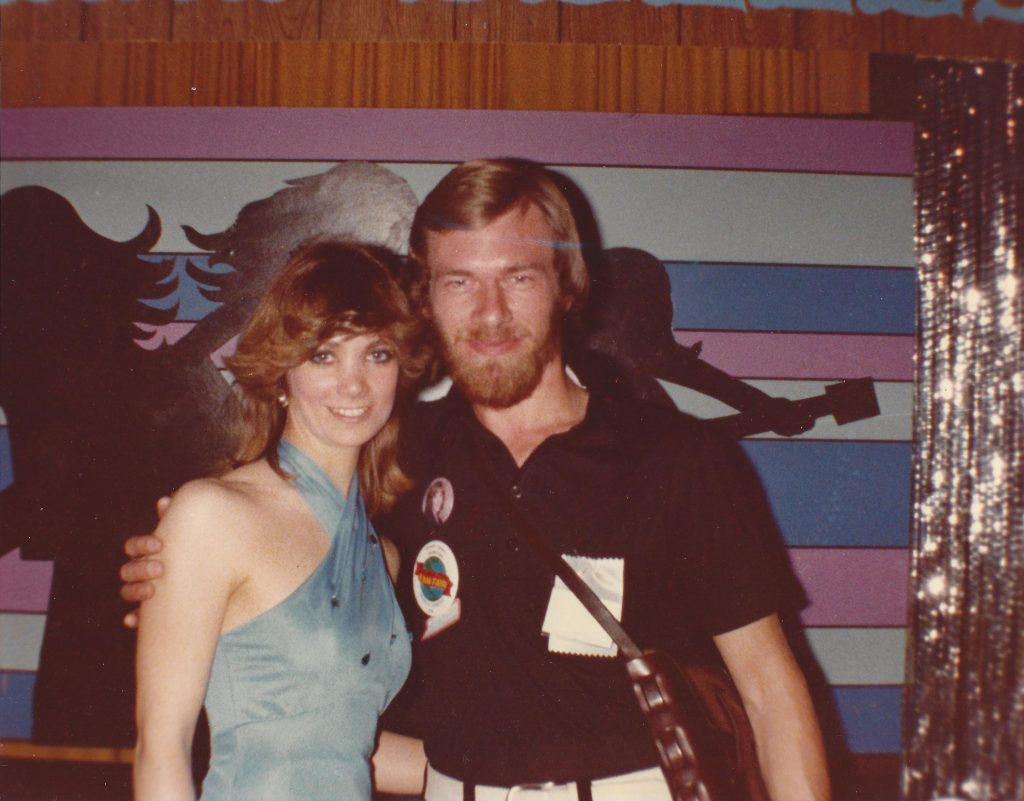 Frederick with Tanya Tucker